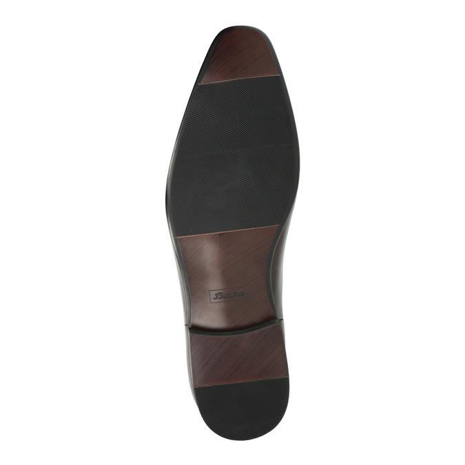 Pánska kožená členková obuv bata, hnedá, 896-4655 - 26