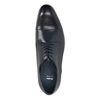 Modré kožené poltopánky bata, modrá, 826-9769 - 19