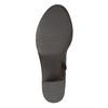 Kožené dámske čižmy bata, hnedá, 694-3361 - 26