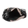 Kabelka v štýle Hobo Bag bata, čierna, 969-6231 - 15