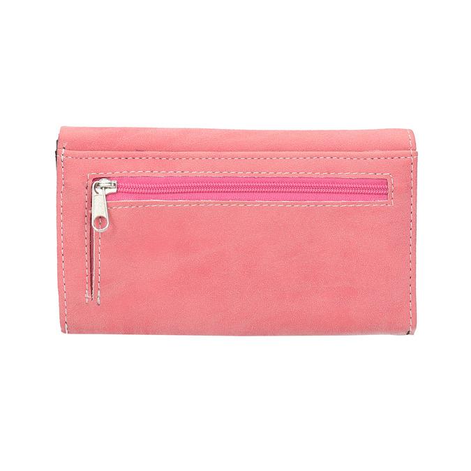 Ružová dámska peňaženka bata, ružová, 941-1153 - 19