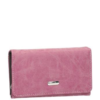 Štýlová dámska peňaženka bata, ružová, 941-5153 - 13