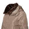 Dlhšia zimná bunda bata, hnedá, 979-8649 - 16