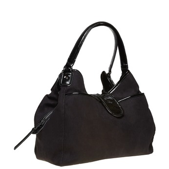 Elegantná dámska kabelka bata, čierna, 969-6209 - 13