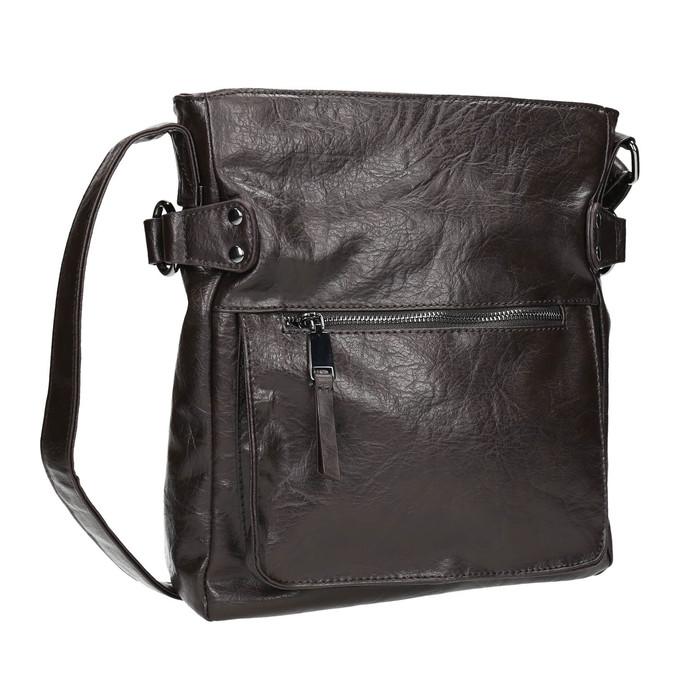 Pánska Crossbody taška bata, hnedá, 961-4266 - 13