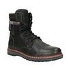 Pánska členková zimná obuv bata, šedá, 896-2650 - 13