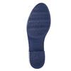 Dámske gumáky v štýle Chelsea bata, modrá, 592-9114 - 26