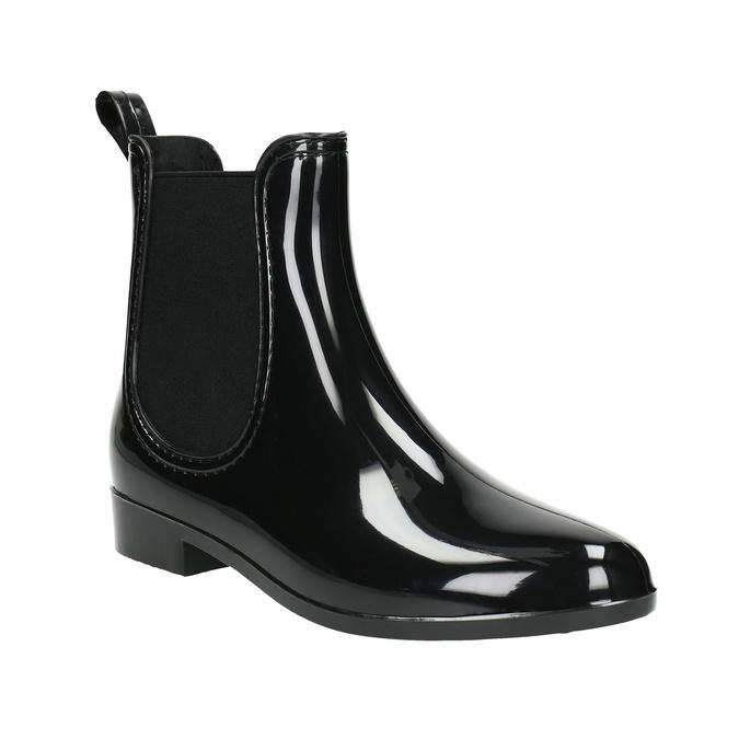 Dámska obuv do dažďa bata, čierna, 592-6779 - 13