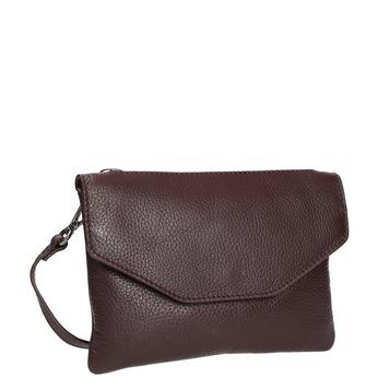 Dámska kožená Crossbody kabelka bata, červená, 964-5210 - 13
