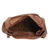 Hnedá kožená kabelka bata, hnedá, 964-3215 - 15