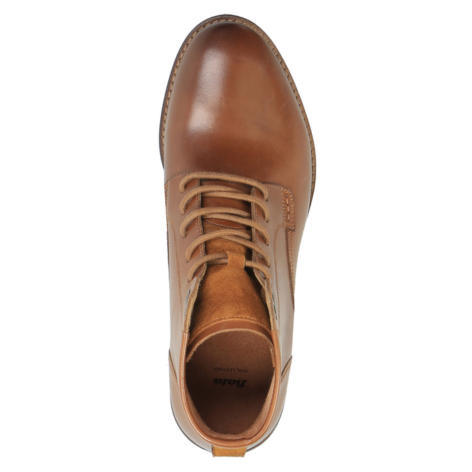Pánska členková obuv bata, hnedá, 894-3674 - 19