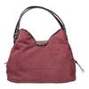 Vínová kabelka s lakovanými detailami bata, ružová, 969-5209 - 19