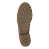 Hnedé kožené čižmy bata, hnedá, 594-4613 - 26