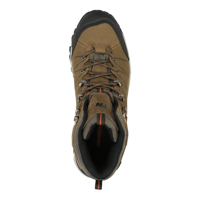Kožená pánska Outdoor obuv weinbrenner, hnedá, 846-4601 - 19