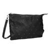 Čierna listová kabelka bata, čierna, 969-6631 - 13