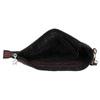 Kabelka v štýle listovej kabelky bata, fialová, 969-5631 - 15