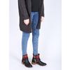 Členková obuv s Etno vzorom bata, čierna, 599-6604 - 18