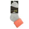 Dámske termo ponožky matex, šedá, oranžová, 919-5380 - 13