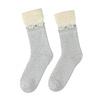 Teplé dámske ponožky bata, biela, 919-1421 - 26