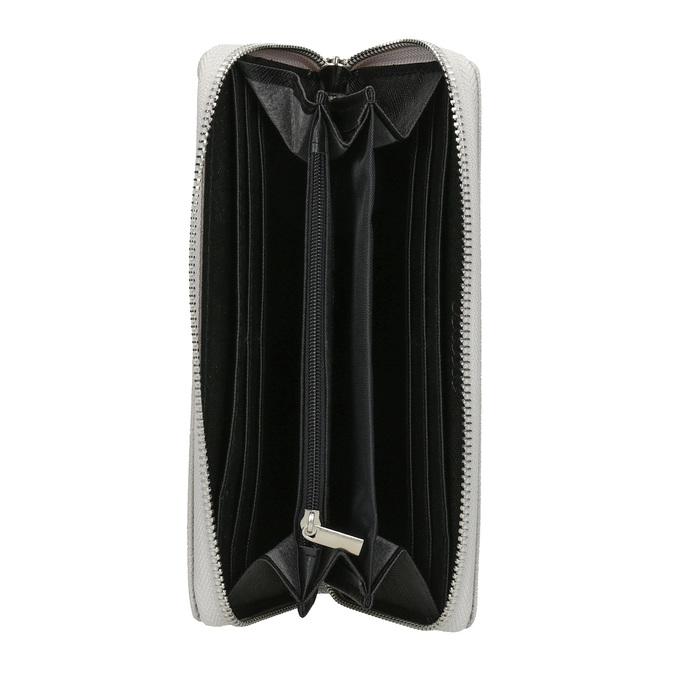Štýlová dámska peňaženka bata, šedá, 941-2151 - 15