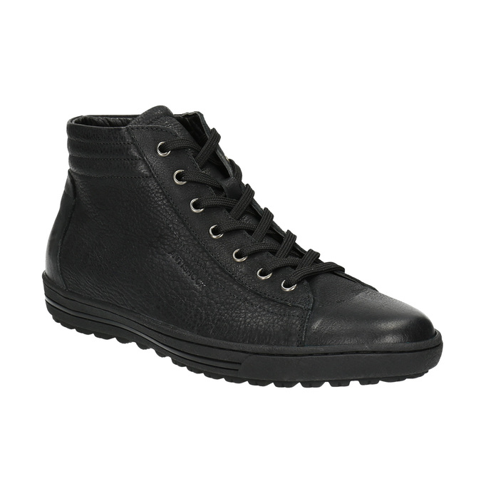 Dámske členkové tenisky bata, čierna, 594-6659 - 13