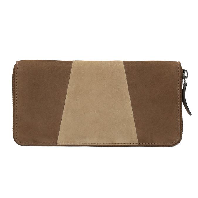 Dámska kožená peňaženka bata, hnedá, 946-4100 - 19