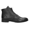 Kožená členková obuv bata, čierna, 594-6263 - 15