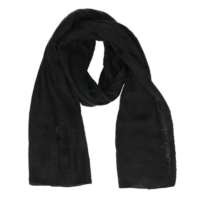 Čierny šál bata, čierna, 909-6204 - 13