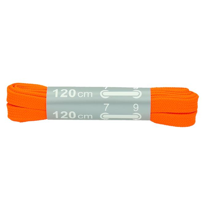 Farebné šnúrky bata, oranžová, 999-3266 - 13