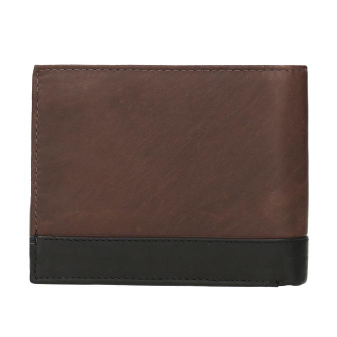 Pánská kožená peňaženka bata, hnedá, 944-8149 - 16
