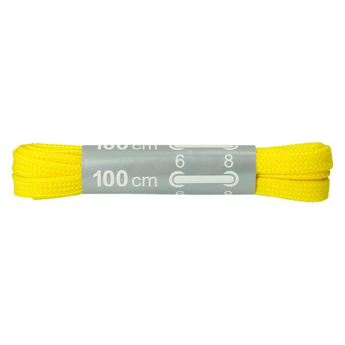 Farebné šnúrky bata, žltá, 999-8166 - 13