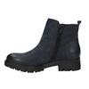 Dámska členková obuv bata, modrá, 696-9606 - 26