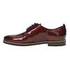 Dámske Derby poltopánky bata, červená, 528-5600 - 26