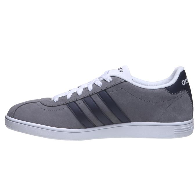 Pánska vychádzková obuv adidas, šedá, 803-2122 - 15