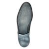 Modré kožené poltopánky conhpol, modrá, 824-9733 - 26