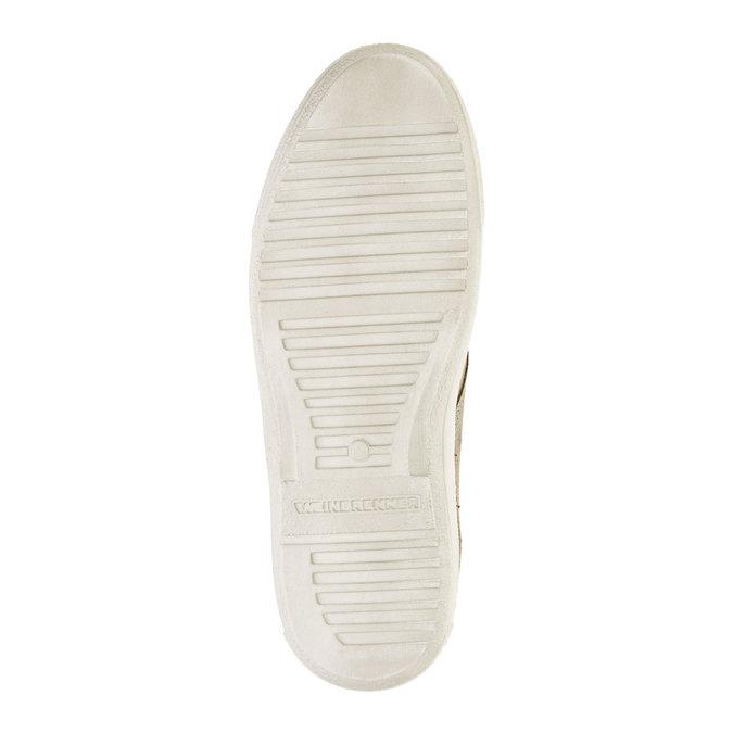 Pánska kožená obuv weinbrenner, hnedá, 843-2661 - 26