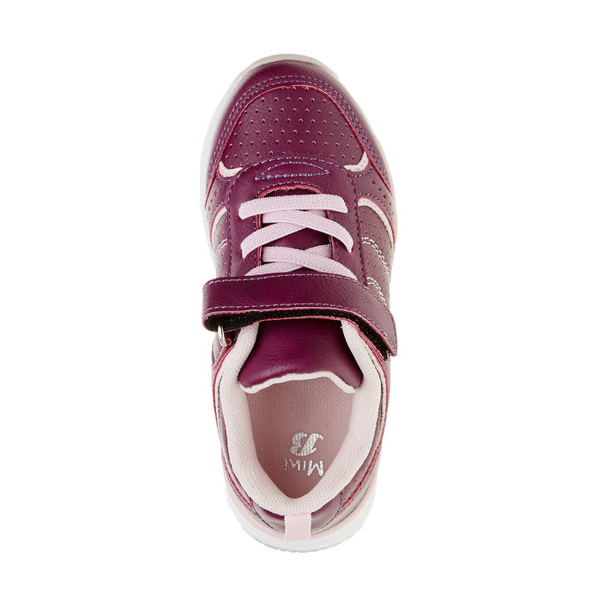 Dievčenské športové tenisky mini-b, červená, 321-9185 - 19
