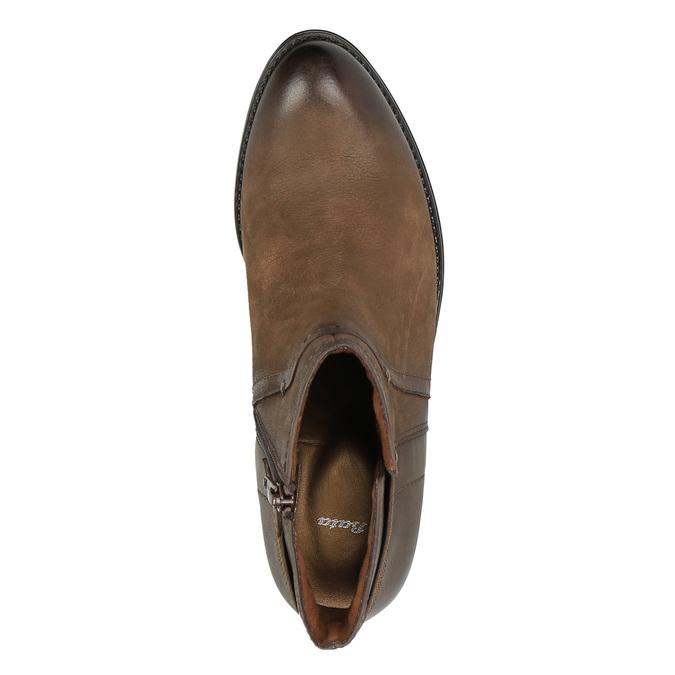 Dámska členková obuv bata, hnedá, 696-4605 - 19