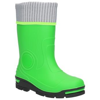 Detské zelené gumáky mini-b, zelená, 292-7200 - 13