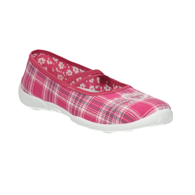 Detská domáca obuv mini-b, ružová, 379-5207 - 13