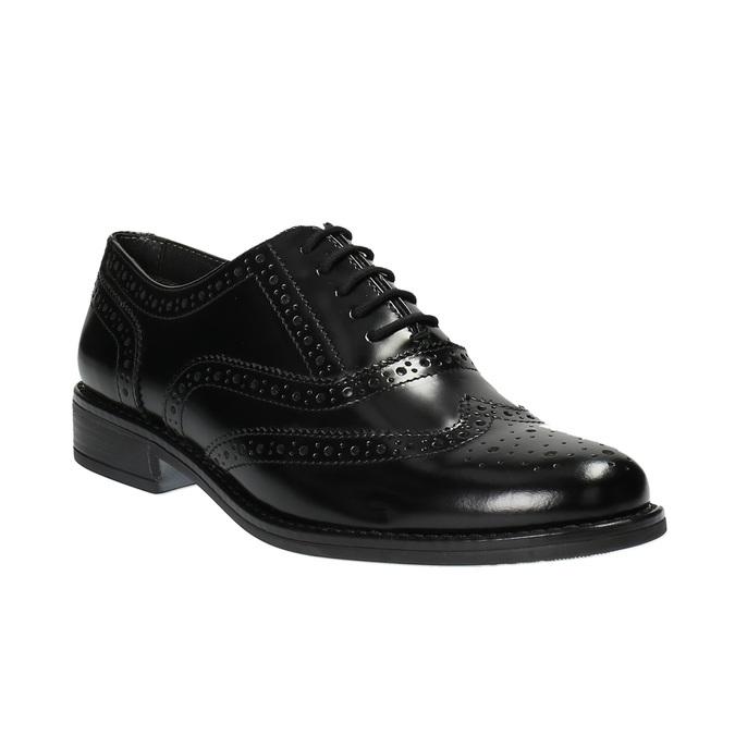 Dámske poltopánky bata, čierna, 524-6600 - 13