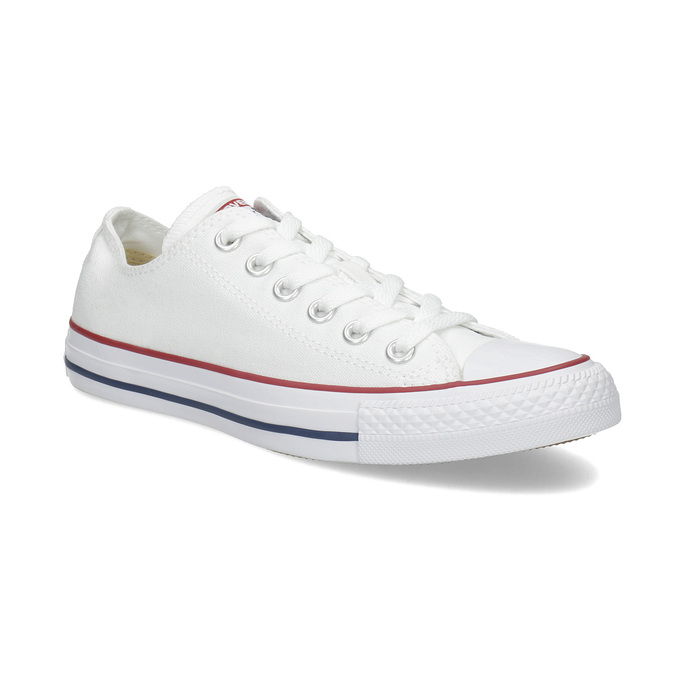 Converse Dámske biele tenisky s gumovou špičkou - Všetky topánky ... b411921b37b
