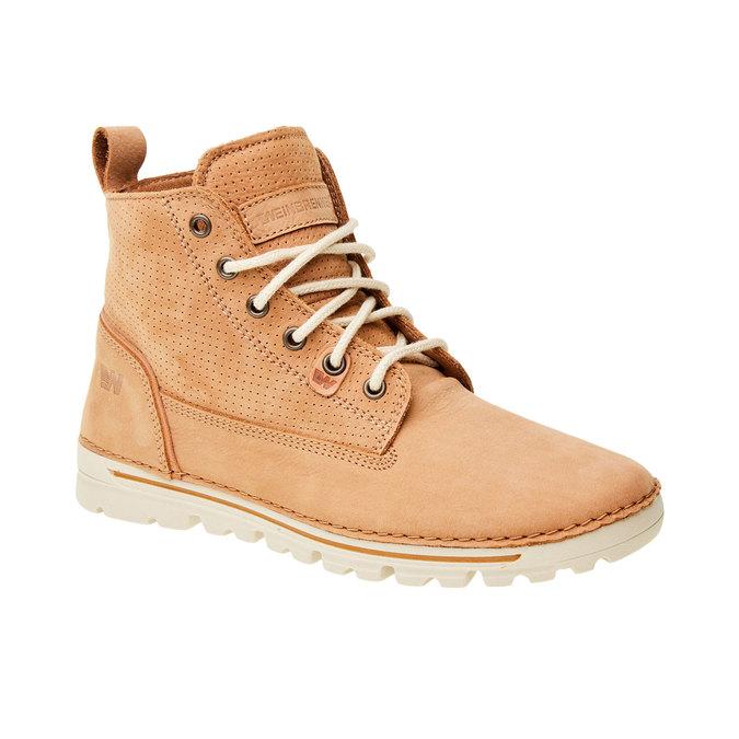 Kožené členkové topánky weinbrenner, hnedá, 594-3531 - 13