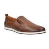Pánske kožené Slip-on topánky bata, hnedá, 814-4148 - 13