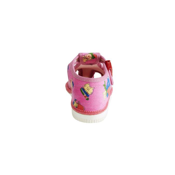Detská domáca obuv bata, ružová, 179-5210 - 17