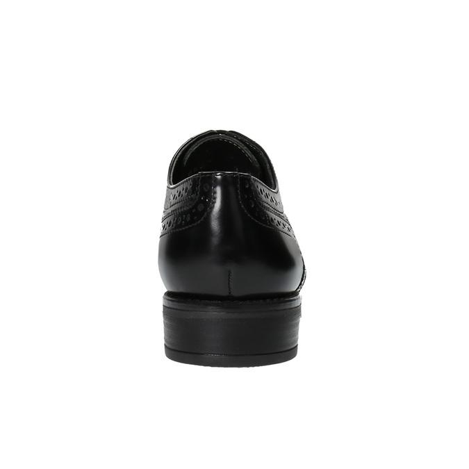 Dámske poltopánky bata, čierna, 524-6600 - 17