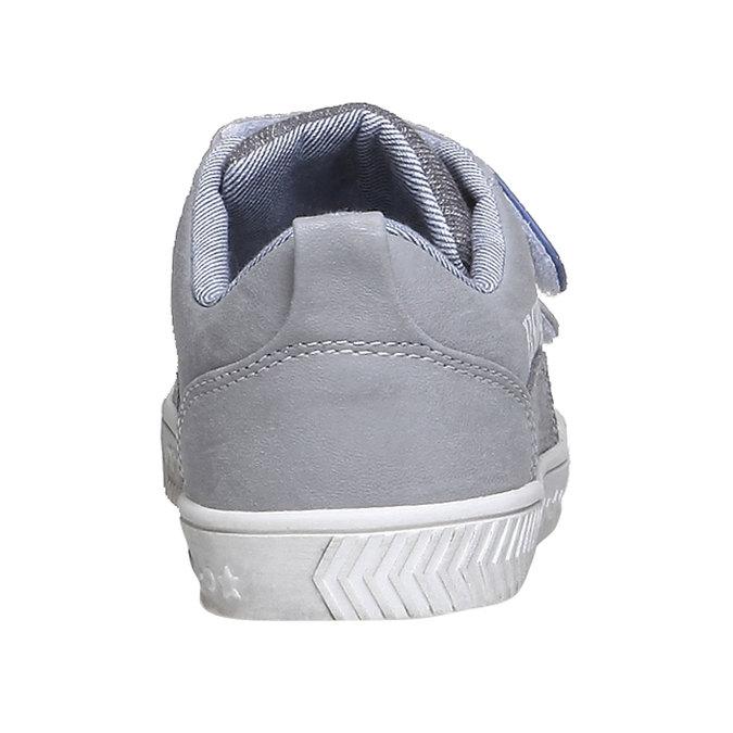 Detské tenisky na suchý zips mini-b, šedá, 211-2157 - 17