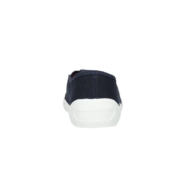Detská domáca obuv mini-b, modrá, 379-9211 - 17
