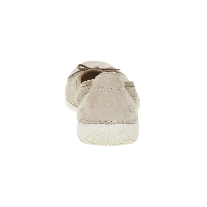 Ležérne kožené baleríny weinbrenner, béžová, 526-2503 - 17