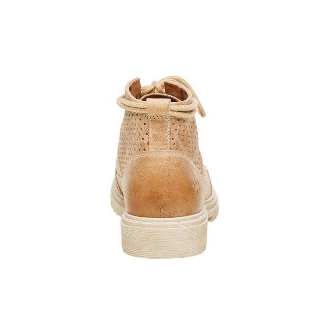 Kožené členkové topánky weinbrenner, hnedá, 594-4138 - 17
